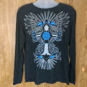 CARBON LONG SLEEVE T-SHIRT SIZE L